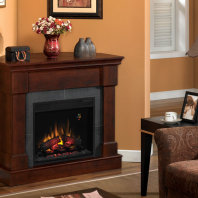 Country Home-mantel with insert